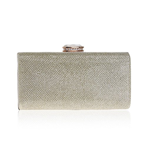 evening Evening Sequin Clutch Dress Evening Gold FLY bag Silver Fashion Fly53 Ladies Dress Bag Color vUHCqnxw