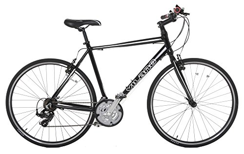 Vilano Tuono Performance Hybrid Flat Bar Commuter Road Bike (700c, 21 Speed...