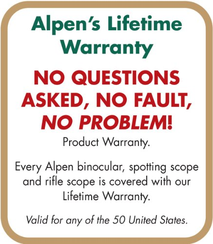 Alpen 15-45x60 Angled Body Waterproof Spotting Scope