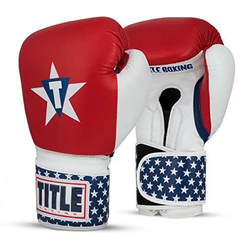 Title Boxing TITLE USA Leather Bag Gloves, USA, 16 oz