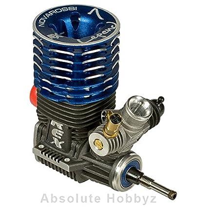 Novarossi Rex Legend 21 On Road 7 Port Engine Turbo Plug (Steel Bearings)