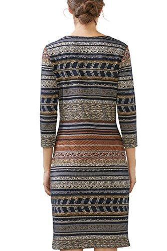 edc by Esprit, Vestido para Mujer Multicolor (Navy)