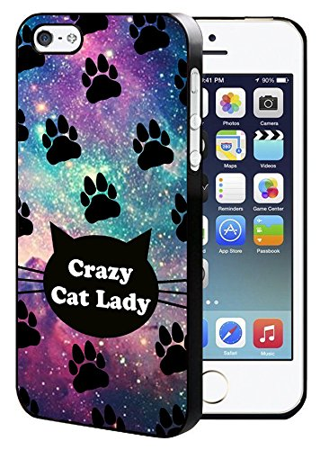 Crazy Cat Lady iPhone 5/5S/SE Hard Case Back Cover