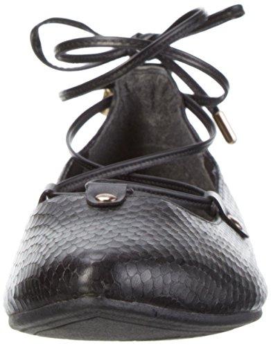 s.Oliver Women's 22100 Ballet Flats Black (Black 001) O5JWImgn