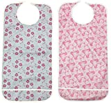 Personal Touch Ladies Adult Bib With Crumb Catcher Size 18x36 Pack of (Snap Closure, Pack of 24)