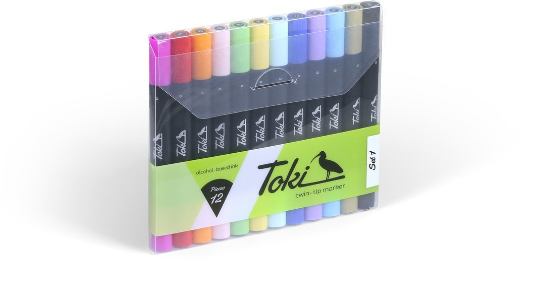 Publikat Toki Twin-Colour Marker 12er Set