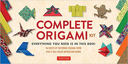 Buy Complete Origami Kit Kit With 2 Origami How To Books 98