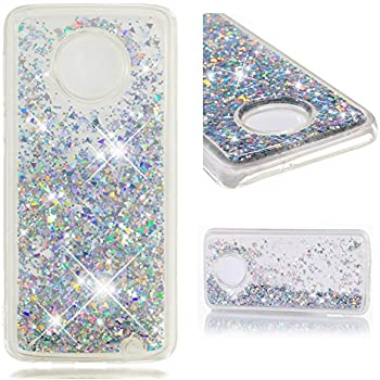 Amazon.com: Moto C Plus Case,DAMONDY 3D Moving Bling Liquid ...