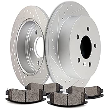 Front+Rear Brake Rotors /& Ceramic Pads For CHEVY IMPALA MONTE CARLO LS LT LTZ SS