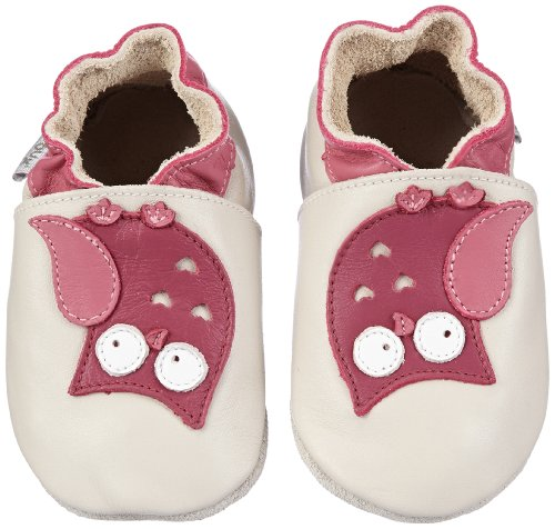 Bobux 460609, Unisex Baby Lauflernschuhe, Weiß (weiß), S EU