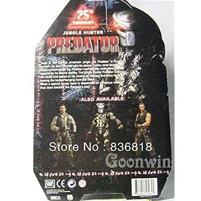 Dream practitioner Neca Predator Series Classic Jungle Hunter 25Th Anniversary Version 8