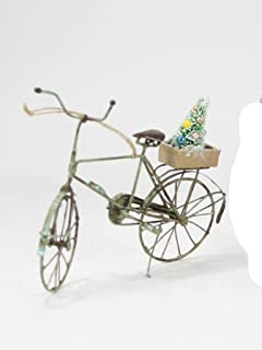 cody foster tin bicycle ornament with christmas tree green bike - Bicycle Christmas Ornament