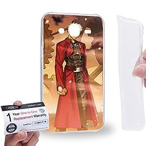 Case88 [Samsung Galaxy J5] Gel TPU Carcasa/Funda & Tarjeta de garantía - Fate Stay Night Archer Unlimited Blade Works UBW 1015