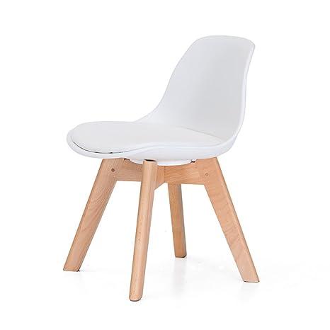 Amazon.com: Estudiante de madera maciza silla/taburete de ...