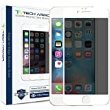 iPhone 6 Screen Protector, Tech Armor Privacy Edge to Edge Glass Apple iPhone 6S/iPhone 6 (4.7-inch) Screen Protectors (White) [1]