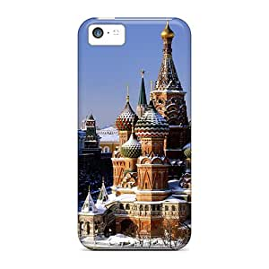 For Iphone 5c Protector Case Moscow Kremlin Phone Cover