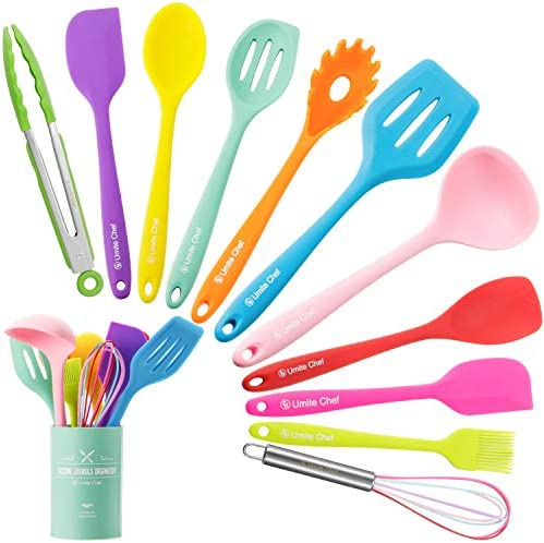 Silicone Utensils Colorful Nonstick Cookware product image