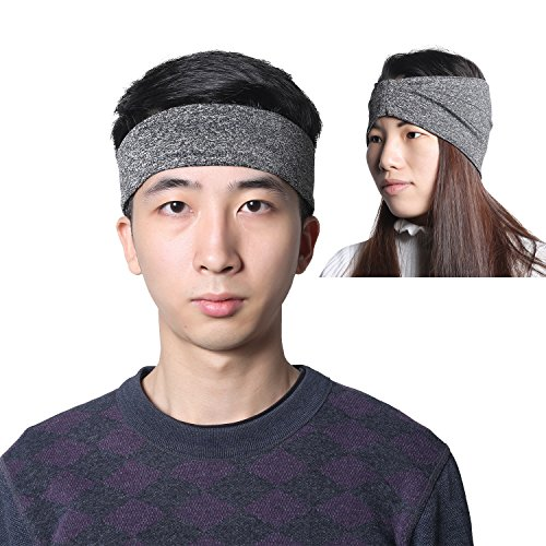 aeeaa4d9a2be Headbands for Men - Moisture Wicking Turban Elastic No Slip - Import It All