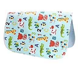 [1927 Inch] Lovely Waterproof Breathable Baby Urine Pad-Bear and Figure