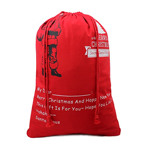 Christmas Bag Santa Sack Canvas Bag For Gifts Santa Sack Special Delivery Extra Large Size 27.6