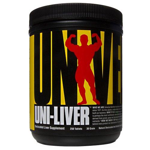 Universal Nutrition Uni-Liver, 250 tablets