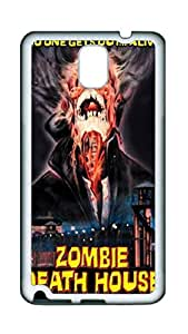 Samsung Galaxy Note 3 Cases & Covers VUTTOO Zombie Death House Movie Poster Custom TPU Soft Case Cover Protector for Samsung Galaxy Note 3 - White