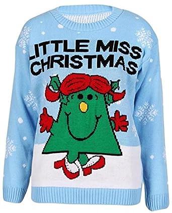 Little Miss Christmas NEW WOMENS XMAS...