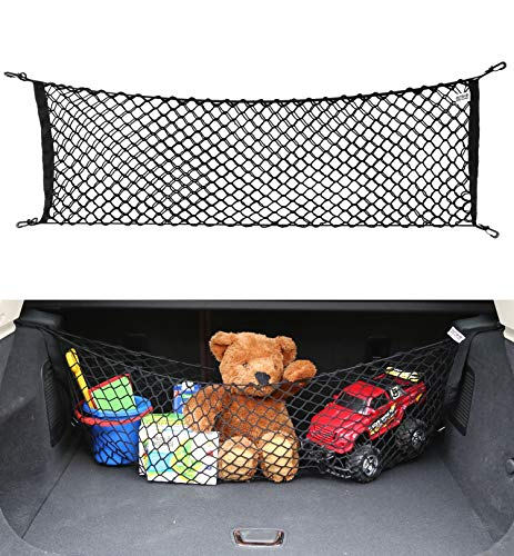 AutoAc Truck Bed Cargo Net Trunk Organizer for Car Trunk Net