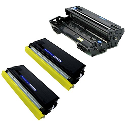 (GREENCYCLE 3 Pack Compatible TN460 Toner Cartridge and DR400 Drum Unit Replacement High Yield Use with Brother DCP-1200 DCP-1400 HL-1250 HL-1270n MFC-8300 MFC-8500 Printer(2 Toner, 1 Drum))