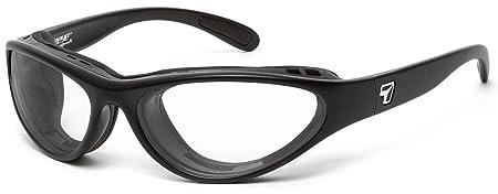 7eye by Panoptx Viento Wind Blocking Sunglasses – Night Driving Clear Lenses Sports Motorcycle Fishing Cycling Eyewear