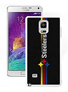 DIY Custom Phone Case For Samsung Note 4 Pittsburgh Steelers 16 White Phone Case For Samsung Galaxy Note 4 N910A N910T N910P N910V N910R4