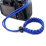 fibgihc 1pcs Chic Hand-made Parachute Rope Camera Wristband For Sale