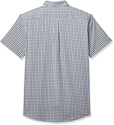 Dockers Men's Big and Tall Short Sleeve Button Down Comfort Flex Shirt