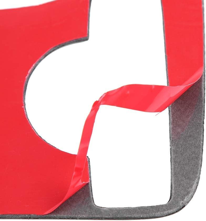 Suuonee Panel Cover Trim Carbon Fiber Multimedia Handrest Panel Cover Trim Stickers Fit for GLK 08-15 Classic Style