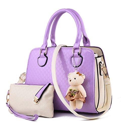 Generic - Borse a spalla Ragazza donna Purple