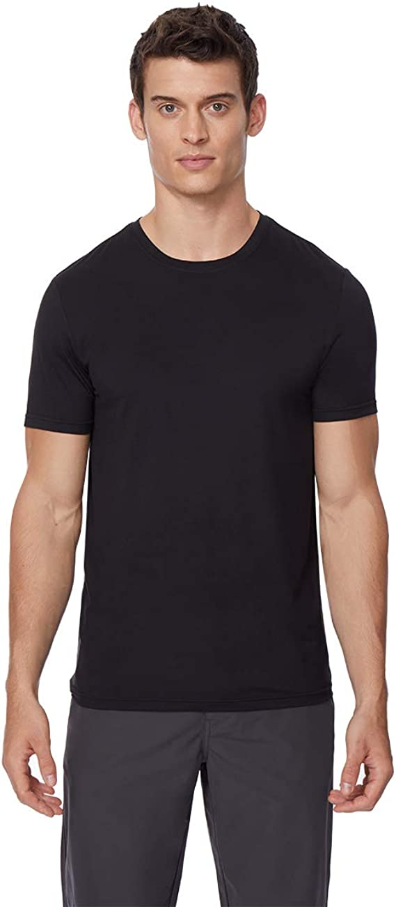 32 Degrees Cool Men/'s 2-Pack Short Sleeve Crew Neck Anti-Static T Shirts