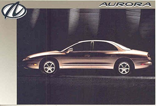 1995 Oldsmobile Aurora ORIGINAL Factory Postcard