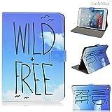 iPad Mini 4 Case LittleMax(TM) [Kickstand] Flip Smart Protective Case [Fit Folio Case] with Auto Wake/Sleep Function for iPad Mini 4 7.9 Inch [Free Cleaning Cloth,Stylus Pen] (Wild Free)