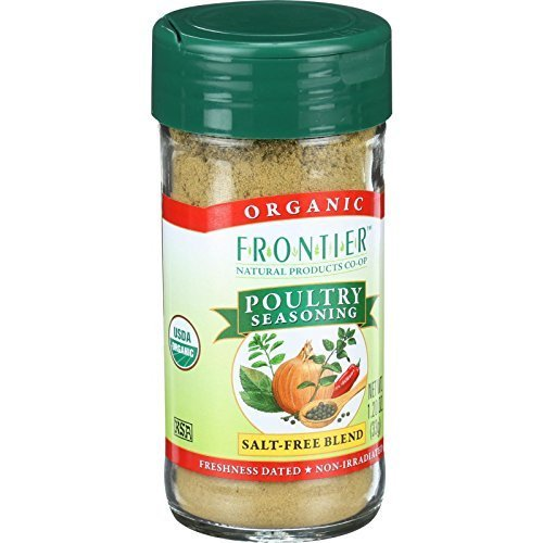 Frontier Herb Organic Poultry Seasoning ( 1x1.2 OZ) ( Multi-Pack)