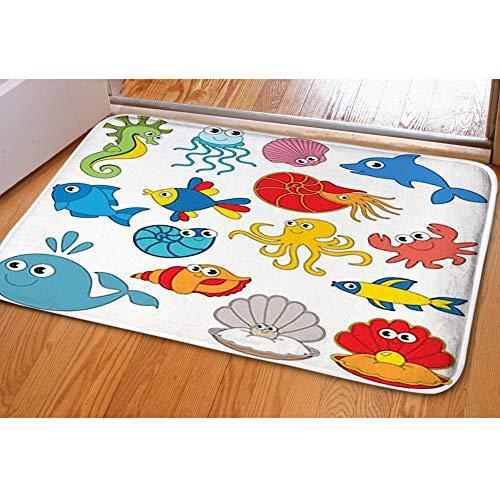 iBathRugs Door Mat Indoor Area Rugs Living Room Carpets Home Decor Rug Bedroom Floor Mats,Homemade Christmas -