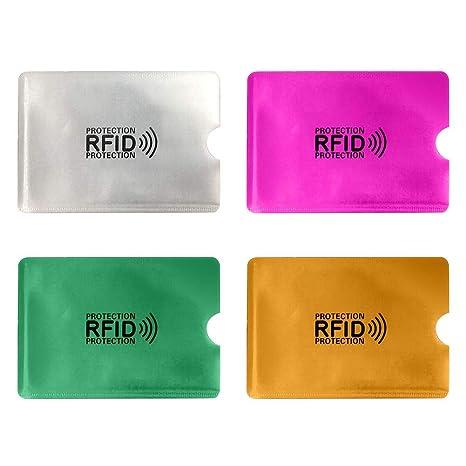 Calistouk - Fundas de Bloqueo RFID para Tarjetas de crédito y ...