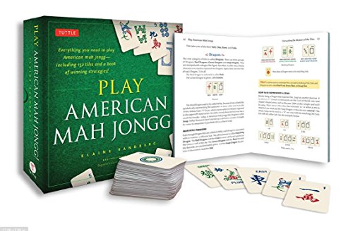 Play American Mah Jongg! Kit: Everything you need to Play American Mah Jongg (includes instruction book and 152 playing cards)