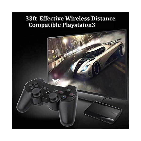 Porro Fino PS3 Wireless DualShock Controller for Playstation3 (Black)