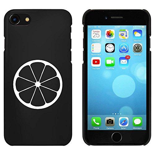 Noir 'Orange' étui / housse pour iPhone 7 (MC00065051)
