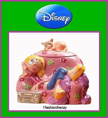 Disney Cookie Jars Amazon Com >> Disney Lizzie Mcguire Collectible Cookie Jar Retired 2001 Stored New In Box