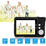 Yasolote HD Mini Point and Shoot Digital Camera Video Recorder Cameras Sports,Travel,Holiday,Birthday Present