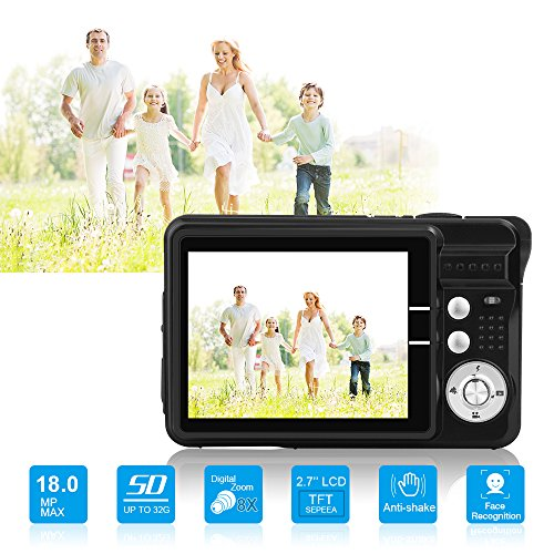 Yasolote HD Mini Point and Shoot Digital Camera Video Recorder Cameras-Sports,Travel,Holiday,Birthday Present