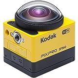 Kodak SP360-YL5 360 Degree Action Camera (Yellow)