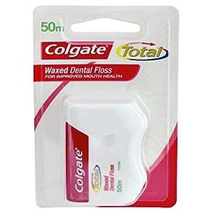 Colgate Total Waxed Dental Floss 50m