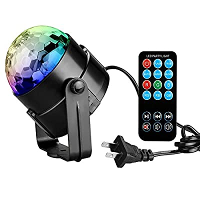 Coidea Sound Activated Stage Light with Remote